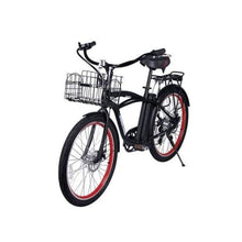 Electric Beach Cruiser Bike X-Treme Newport Elite 300W 24/36V - Black - Electric Bike $1052.00