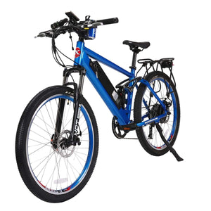 Electric Mountain Bike X-Treme Rubicon 500W 48 Volt 10.4Ah - Metallic Blue - Electric Bike $1709.00