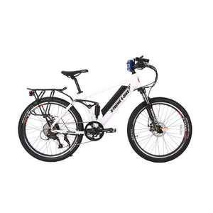 Electric Mountain Bike X-Treme Rubicon 500W 48 Volt 10.4Ah - Metallic White - Electric Bike $1709.00