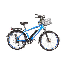 Electric Cruiser Bike X-Treme Laguna 500W 48V 15Ah - Metallic Blue - Electric Bike $1709.00