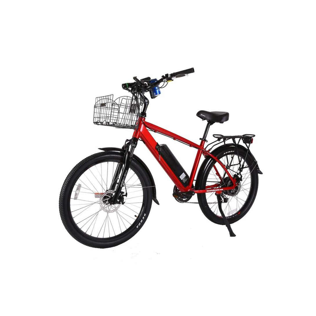 Electric Cruiser Bike X-Treme Laguna 500W 48V 15Ah - Red - Electric Bike $1709.00