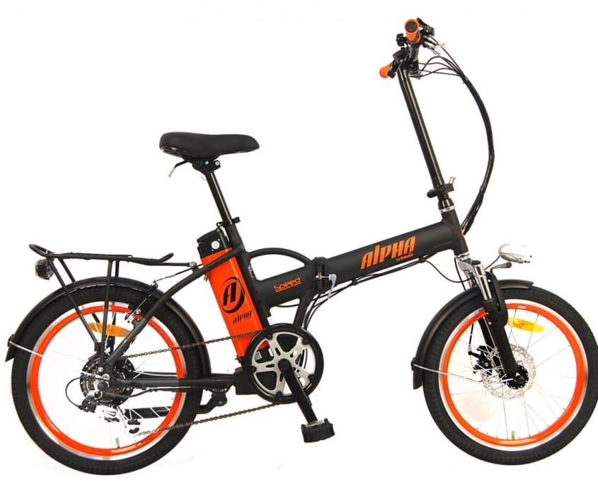 Folding Electric Bike GreenBike Alpha Speed 350W 36V
