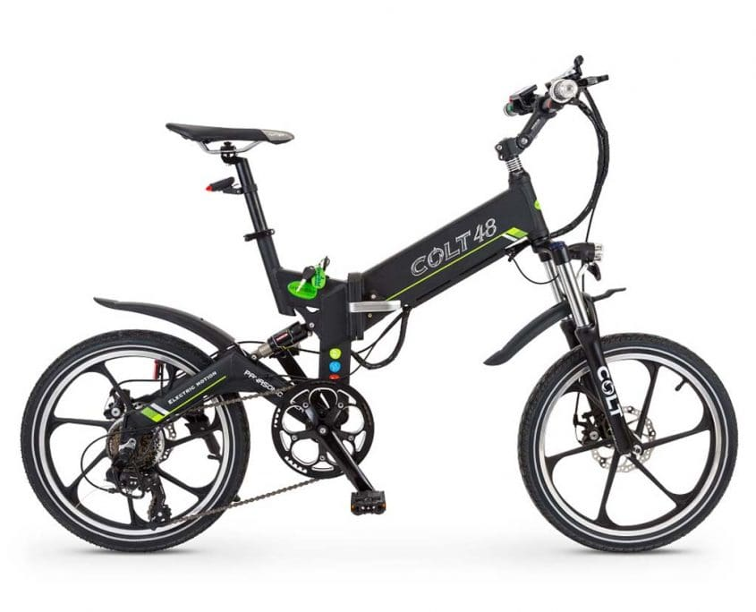 Folding Electric Bike GreenBike COLT 48 350W 48V