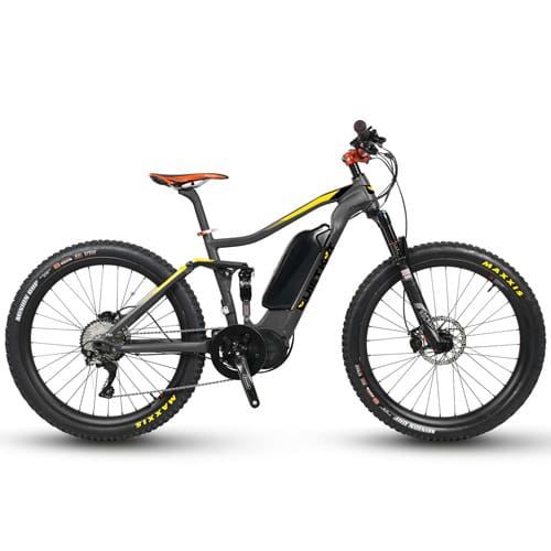 Electric Mountain Bike QuietKat Quantum Fat Tire Bike - 750/1000 W (2019)