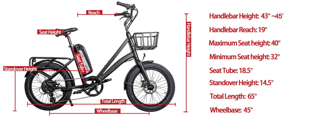 Cruiser Electric Bike Civi Bikes RUNABOUT 48V 500 Watt