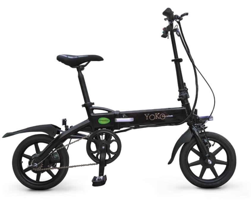 Folding Electric Bike Green Bike Yoko Premium 36V 350W