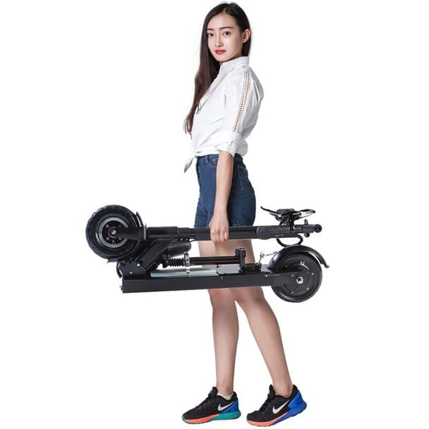 F3S 27.9 Miles  Foldable Electric Scooter - Black