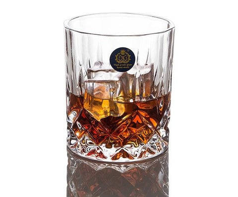 The Dublin Cut Whiskey Glass