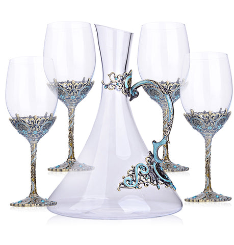 Luxury Wine Decanter Set