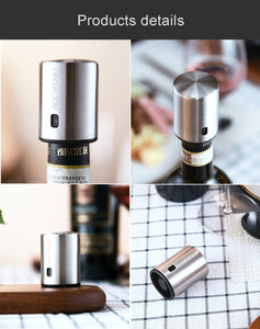 Electric Wine Bottle Opener Set
