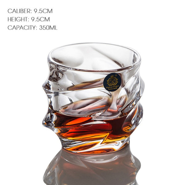 The Sculpted Whiskey Glass