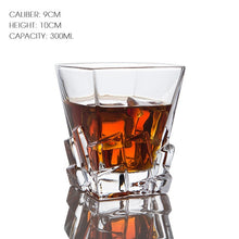 Load image into Gallery viewer, The Mountain Peak Whiskey Glass