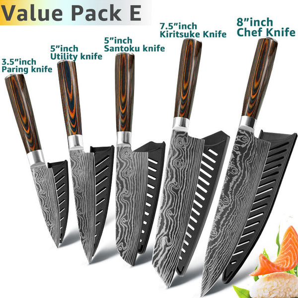 Japanese Luxury Knife Set