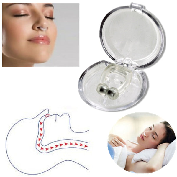 Magnetic Anti-Snore Nose Clip