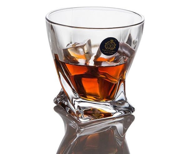 The Twist Whiskey Glass