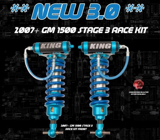 Direct Bolt-On KING Stage 3 Race Kit Front 3.0