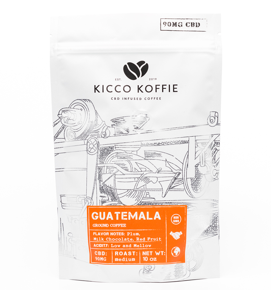 Guatemala Single Origin CBD Coffee (90mg CBD)
