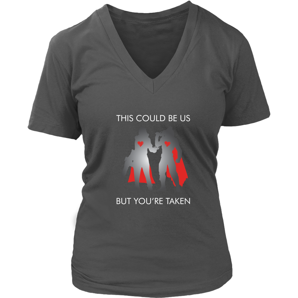 Destiny This Could Be Us But You're Taken Women's V-Neck T-Shirt