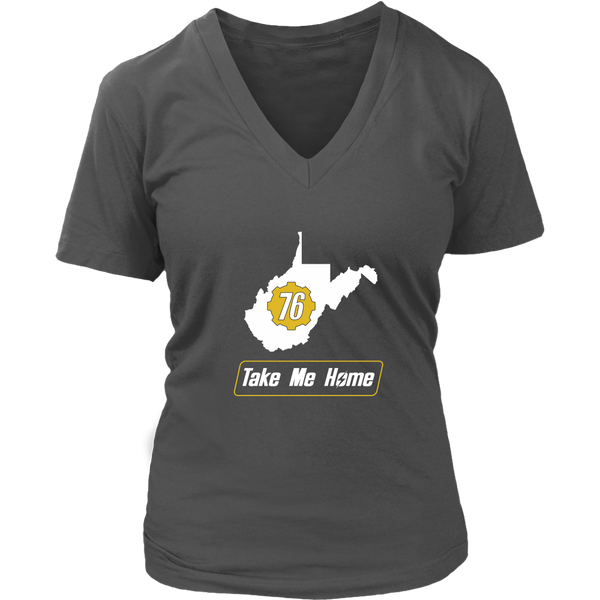 Fallout 76 Take Me Home Women's V-Neck T-Shirt
