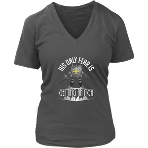 Bioshock Big Daddy First World Problems Women's V-Neck T-Shirt