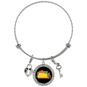 Pixelated Taco Chloe Bracelet