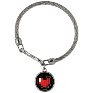 Pixelated Heart Wickford Bracelet