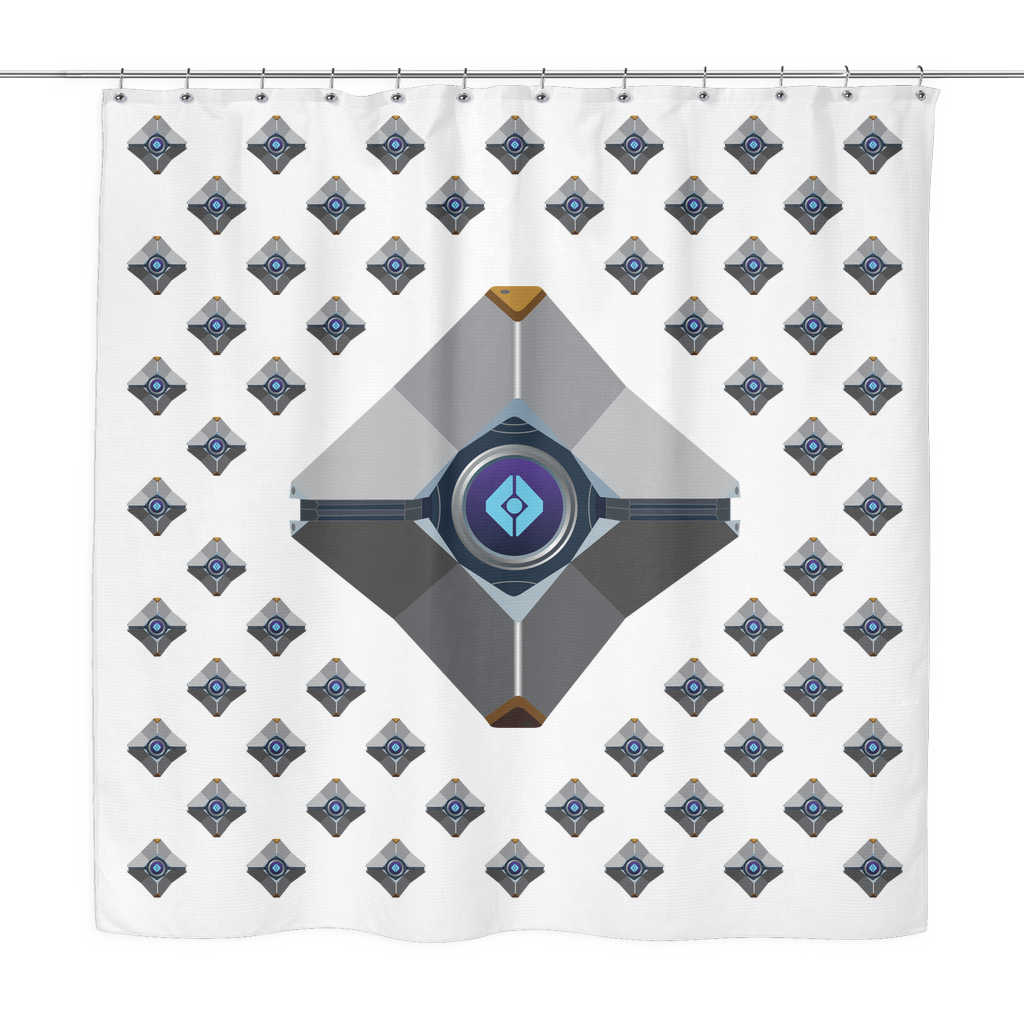 Destiny Ghost Shower Curtain