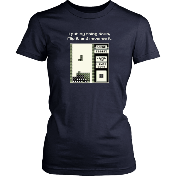 Tetris Put My Thing Down Women's T-Shirt