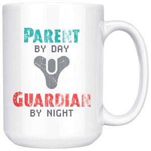 Destiny Parent by Day, Guardian by Night Mug