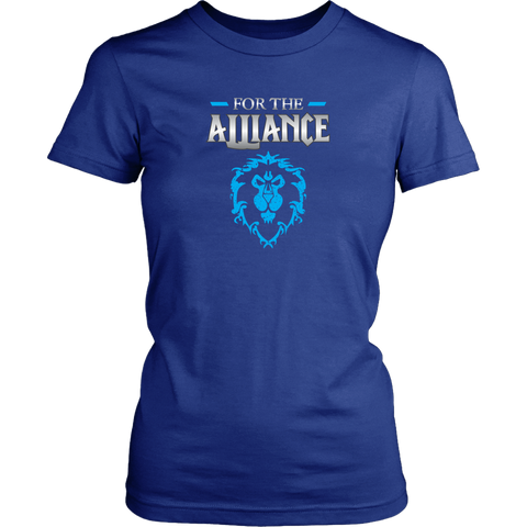 "World of Warcraft ""For the Alliance"" Women's T-Shirt"