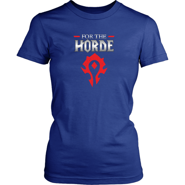 "World of Warcraft ""For the Horde"" Women's T-Shirt"