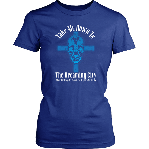 Destiny Dreaming City 80's Style Women's T-Shirt