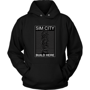 Joy Division Realm in Sim City Hoodie