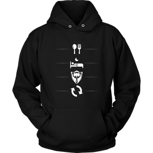 Eat - Sleep - LOL - Repeat Hoodie