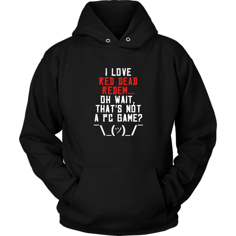 Red Dead Redemption PC Gamer Woes Hoodie