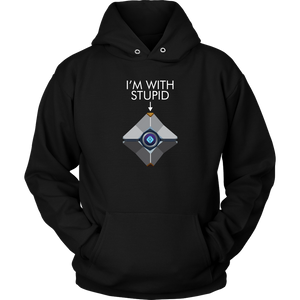 Destiny Ghost I'm With Stupid Hoodie