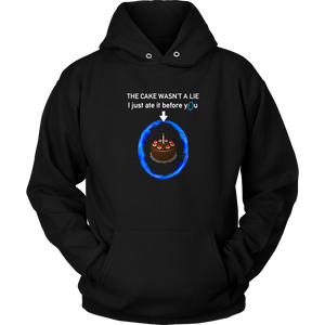 Portal The Cake Is Not a Lie Hoodie