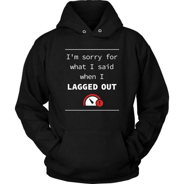 Lagged Out Apology Hoodie