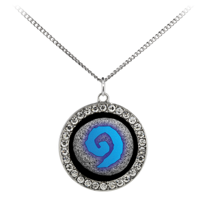 World of Warcraft Hearthstone Stone Coin Necklace