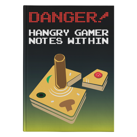 Hangry Gamer Gear Taco Hardcover Journal
