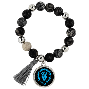 "World of Warcraft ""For the Alliance"" Lyric Bracelet"