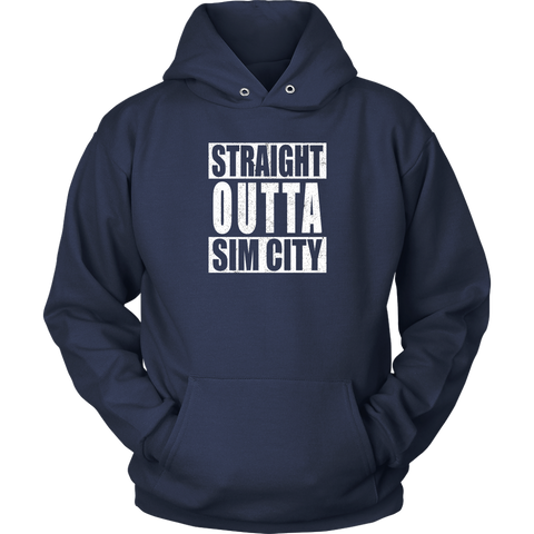 Straight Outta SimCity Hoodie