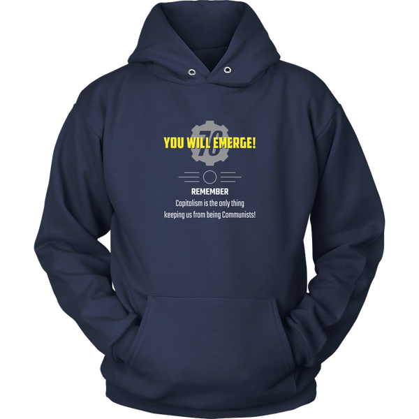 Fallout 76 You Will Emerge Hoodie