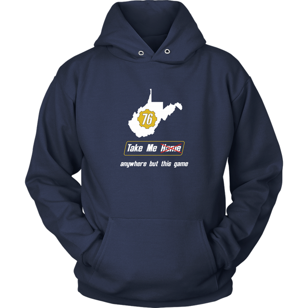 Fallout 76 Take Me Away From This Game Hoodie