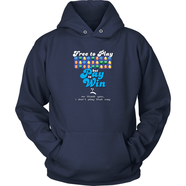 Down With Pay to Win Hoodie
