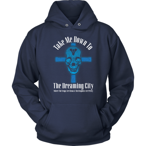 Destiny Dreaming City 80's Style Hoodie