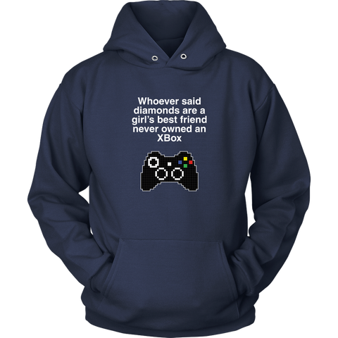Xbox is a Girl's Best Friend Hoodie