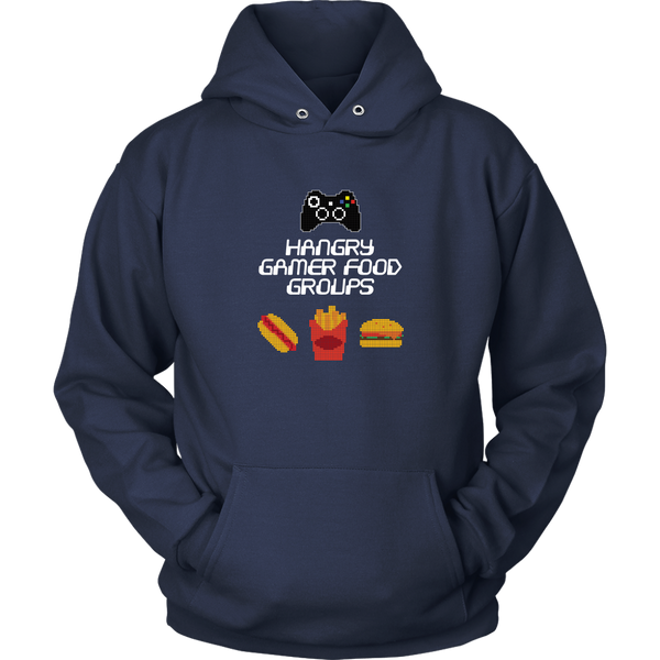 Gaming Food Groups (Xbox Edition) Hoodie