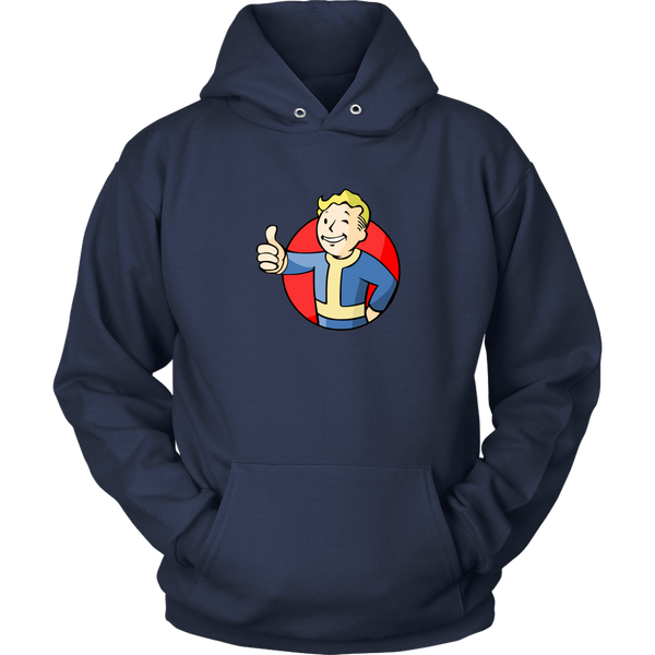 Fallout Vault Boy Thumbs Up Hoodie