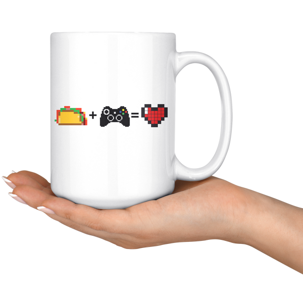 Food + Gaming = Love (Xbox Edition) Mug